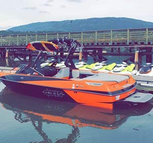 Sea-Dog Boat Rentals Salmon Arm, Axis Speed Boat